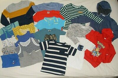Age 4-5-6 Boys H&M NEXT Clothing Bundle Jumpers Hoodie Vests T-shirts Tops