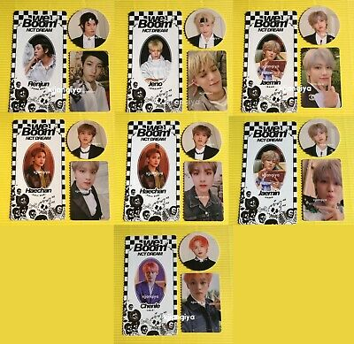 NCT Dream We Boom Official Photocard Circle Card Scratch Card [Member SET]