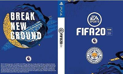 Fifa 20 Game PS4 Custom Leicester City Cover for Playstation 4 Sleeve Outer
