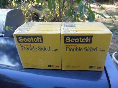"Scotch 665 1/2"" x 1296"" double sided tape  quantity 40 rolls"