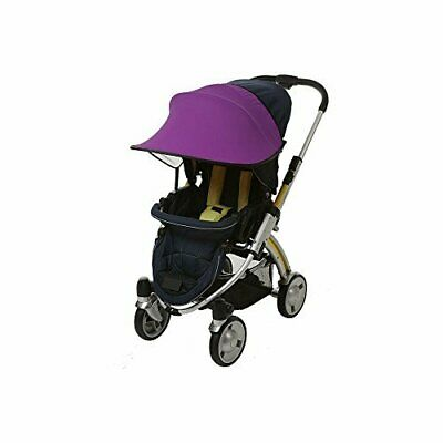Manito Sun Shade for Strollers and Car Seats (Purple) UPF 50+
