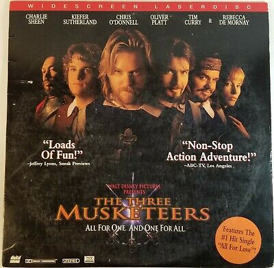 Laserdisc THE THREE MUSKETEERS Widescreen THX LD