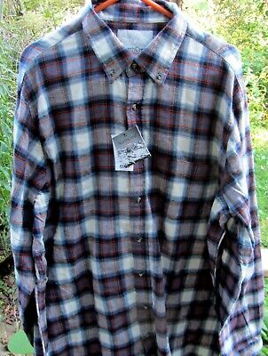 North Crest Xxlt Men's Flannel Shirt--Brand New W/ Tags--Lovely And Soft