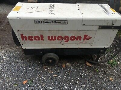 Heat Wagon Commercial Industrial Movable Air Heater