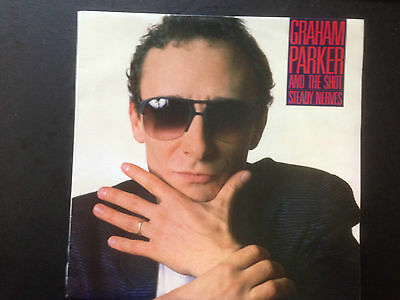 GRAHAM PARKER & THE SHOT STEADY NERVES~Oz LP LIB-5048 Liberation Records
