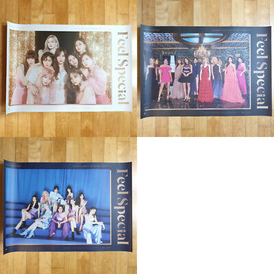 TWICE Feel Special 8th Mini Album Unfolded Poster 1p Only Select Option