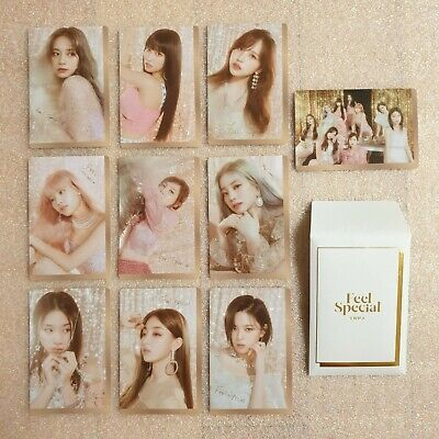 TWICE Feel Special 8th Mini Album Preorder Photocard A Ver. Select Option