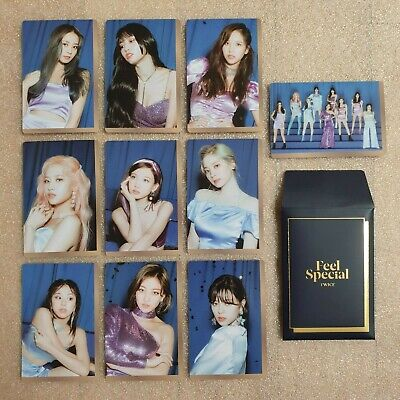 TWICE Feel Special 8th Mini Album Preorder Photocard B Ver. Select Option