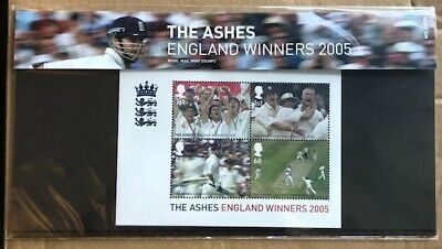 Royal Mail Mint Stamps - The Ashes - England Winners 2005