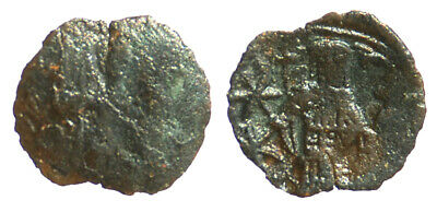 Byzantine Andronicus II Palaeologus AE Trachy Thessalonica mint SB 2373