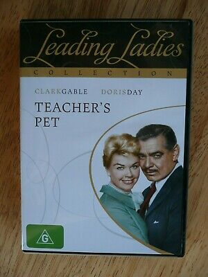 Teacher's Pet Dvd- Like New Doris Day Pal Region 4 Aus