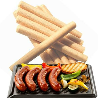 14M * 26MM Natural Sausage Casings Skin Collagen Casing Smoked Fresh Roast