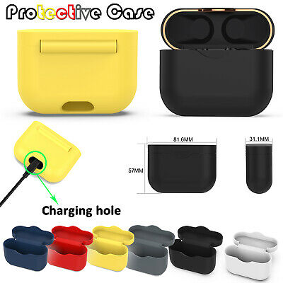 1xSilicone Protective Case Waterproof Storage Cover for Sony WF-1000XM3 Earphone