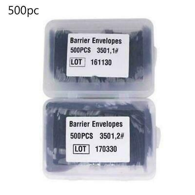 500pcs Barrier Envelopes Disposable Protective Pouch Bags Cover 33 44mm New B9O3