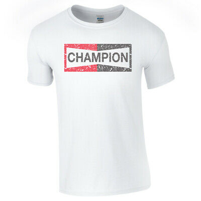 ONCE UPON A TIME CHAMPION TSHIRT Top Hollywood Brad Pitt Fan Unisex Adults Kids