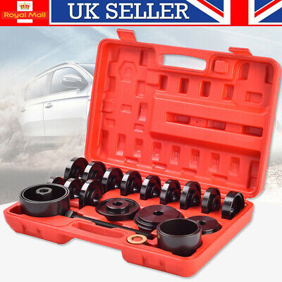 23pcs Front Wheel Drive Bearing Puller Removal Installation Adapter Tool Kit Set