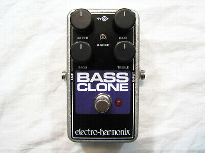 Used Electro-Harmonix EHX Bass Clone Bass Chorus Effects Pedal