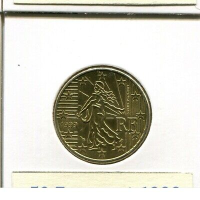 50 EURO-CENT 1999 FRANKREICH French Coin #AM467DW