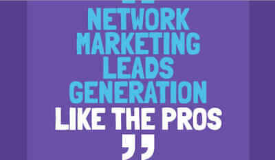 Supply Network Marketing Traffic or Mlm Leads Usiness Opp Seekers.