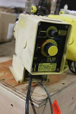 Lmi Milton Roy Chemical Metering Dosing Pump Model A101-92