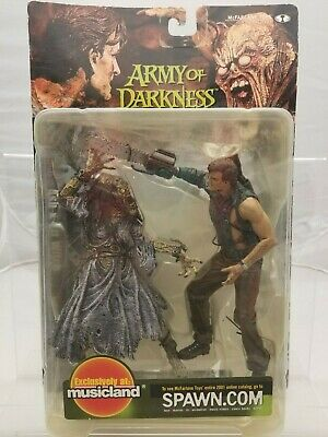 McFarlane Movie Maniacs 4 Army of Darkness Ash and Pit Witch