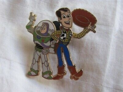 Disney Trading Pins 47915 Disney/Pixar's Toy Story - Buzz Lightyear and Woody