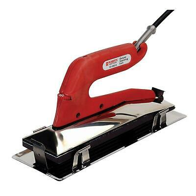 Carpet Iron Deluxe Heat Bond with Non-Stick Grooved Base Flooring Seaming Tool