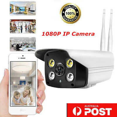 Full HD 1080P Wifi IP Camera P2P Wireless Security IR Night Vision 2MP Outdoor