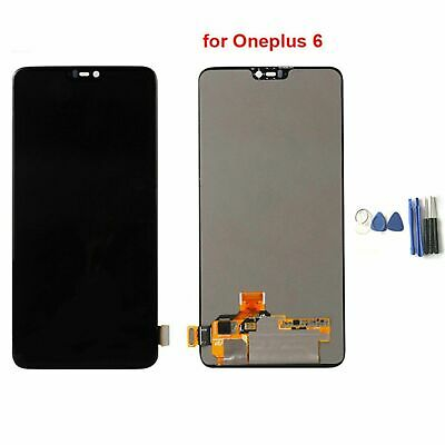 For Oneplus 6/One Plus 6 LCD Display+Touch Screen Digitizer Assembly Replacement