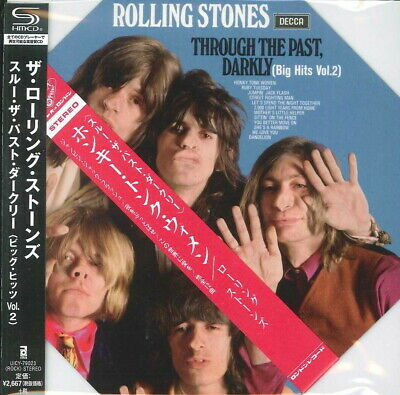 ROLLING STONES-THROUGH THE PAST. DARKLY...-JAPAN MINI LP SHM-CD Ltd/Ed G00