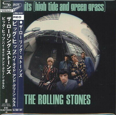 ROLLING STONES-BIG HITS (HIGH TIDE AND GREEN...)-JAPAN MINI LP SHM-CD Ltd/Ed G00