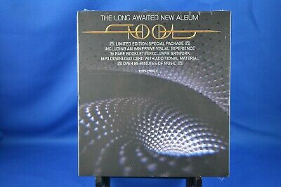 TOOL FEAR INOCULUM 2019 CD Deluxe Edition HD Screen Limited Trifold  In Hand