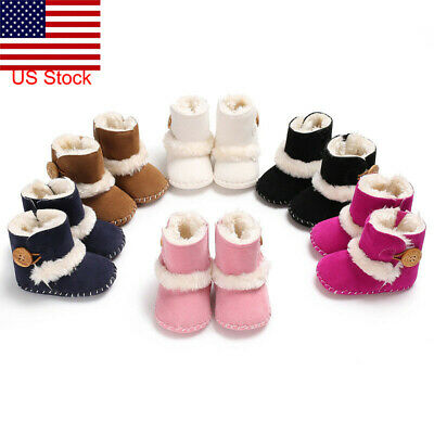 Baby Girl Boy comfortable Snow Boots Winter Boots Infant Kids New Soft Shoes