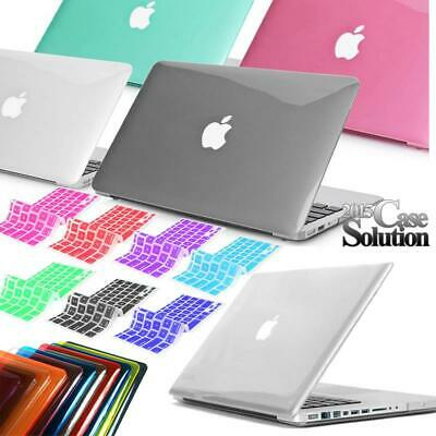 "For 11"" 12"" 13"" 15"" MacBook Air/Pro/Retina Crystal Hard case + keyboard Cover"
