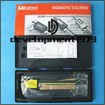 "Mitutoyo 500-197-20 Digimatic Vernier Caliper Tools LCD(0-200mm/8"")"