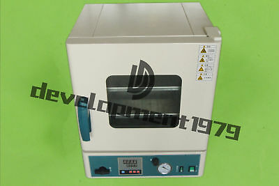 1pcs Stainless Steel Digital Vacuum Drying Oven DZ-1BCⅡ 250°C 12x12x11 New