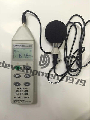 CENTER 321  Sound Level Meter 30~130 dB (PC interface)
