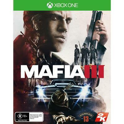 Mafia III 3 XBox One Gangster Role Play Action Strategy Game Microsoft XB1 S X