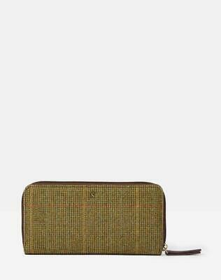 Joules Fairford Tweed 30th Anniversary Purse - Mr Toad