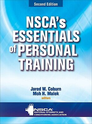 Essentials of Personal Training (2nd edition) by NSCA National Strength...[P-DF]