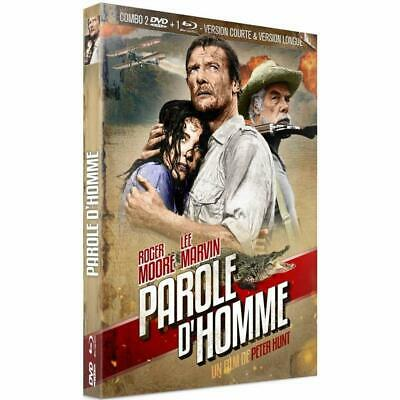 Paroles D'hommes Roger Moore  Combo Blu Ray + Dvd  Neuf Sous Cellophane