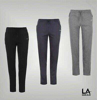Ladies LA Gear Elasticated Waist Interlock Jogging Pants Sizes from 8 to 22