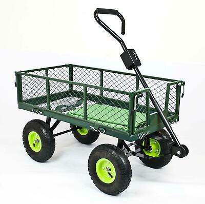 GARDEN TROLLEY All-Terrain Cart with Sack Liner in 2 sizes