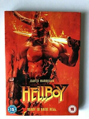 Hellboy - Ready To Raise Hell - Starring David Harbour (DVD, 2019)  FREE POST