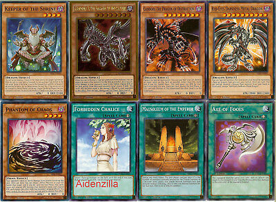 Yugioh Gandora Dragon Deck - X Demolition Destruction Red-Eyes Darkness Lot