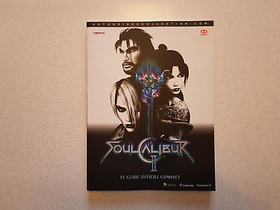SOULCALIBUR 2 - PS2 GAMECUBE XBOX - guide stratégique officiel NAMCO