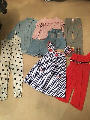 Girls Bundle Age 6-7 Years Joggers Jumper Holiday Gap Converse Next