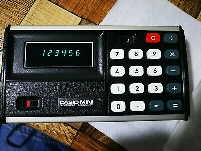 Casio Mini Electronic Calculator