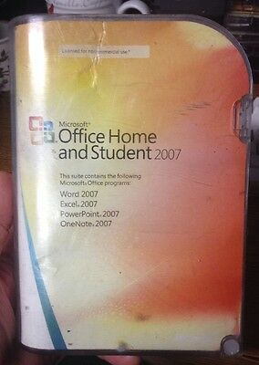 Microsoft Home and Student 2007 (Retail - Full Version) w/ key