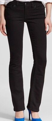 Knox Rose Mid-Rise Bootcut Power Stretch Women's Black Pants, Size 2/26, NWT